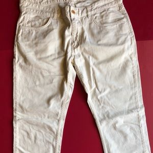 Other - Gant Rugger CREAM Stick Boy Pants 36Wx32 SLIM Fit